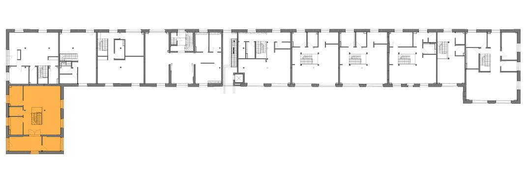 Lageplan der Remise Stadthaus 1
