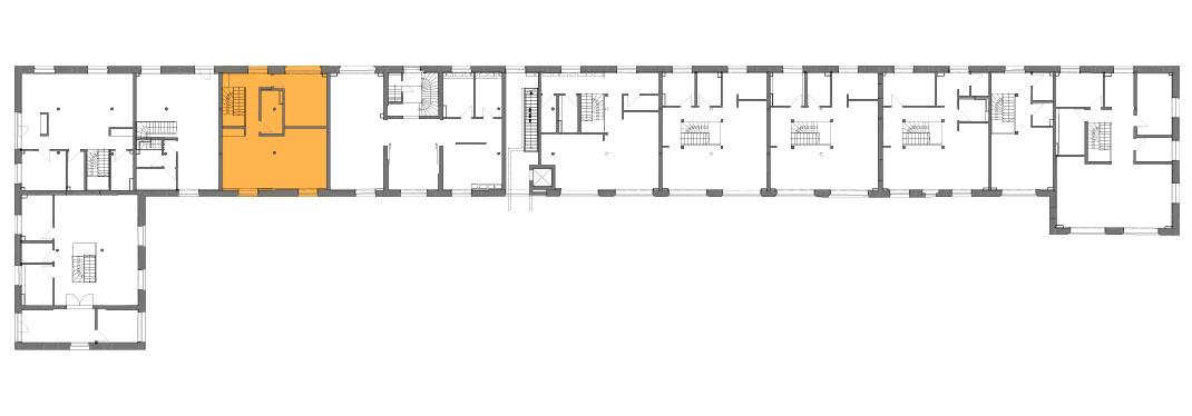 Lageplan der Remise Stadthaus 4