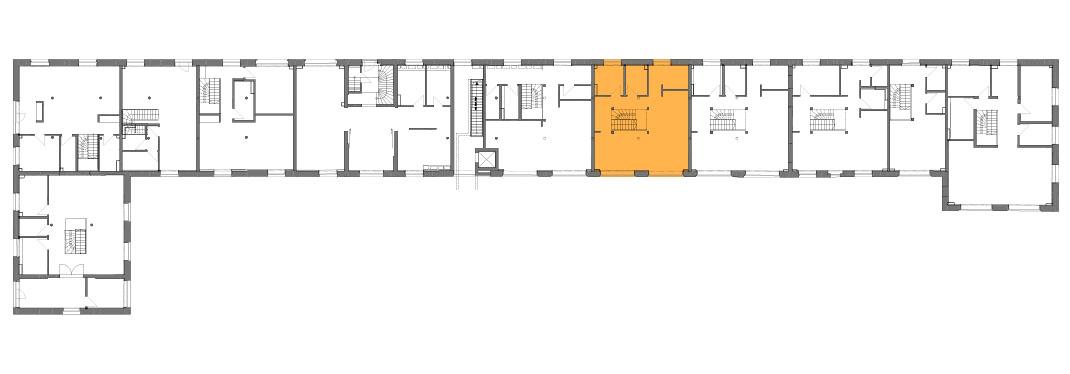 Lageplan der Remise Stadthaus 7