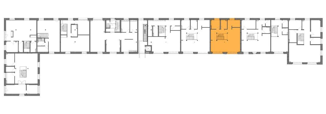 Lageplan der Remise Stadthaus 8