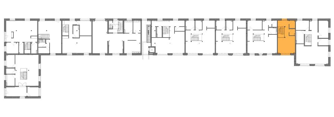 Lageplan der Remise Stadthaus 10