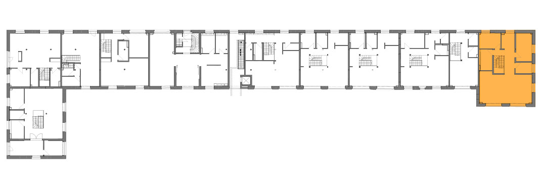 Lageplan der Remise Stadthaus 11