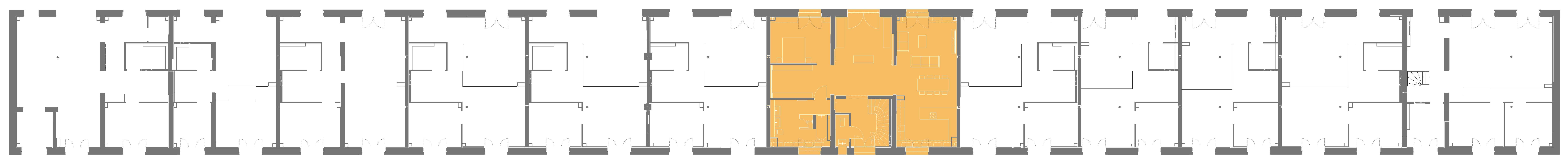 Lageplan der Remise Stadthaus 6